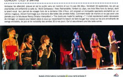 Le concert à Ambazac