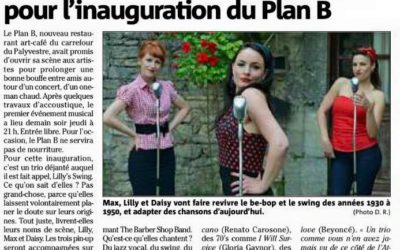 Var Matin parle du concert au Plan B